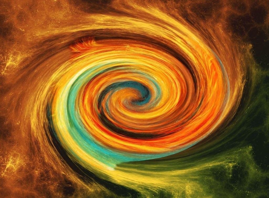 La spirale du développement spirituel