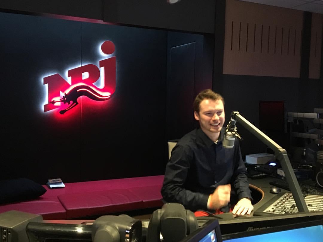 Quentin Boulet chez la radio NRJ