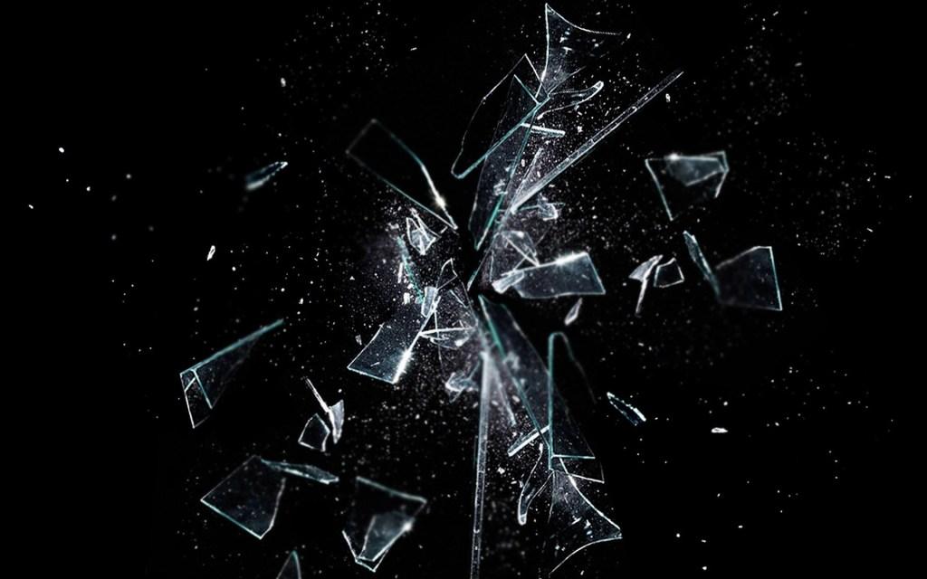 glass shattering