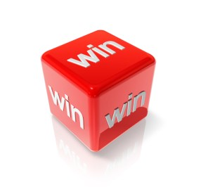 Win red dice