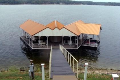 Grand Lake docks