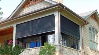 Rectractable Screens at Grand Lake Oklahoma