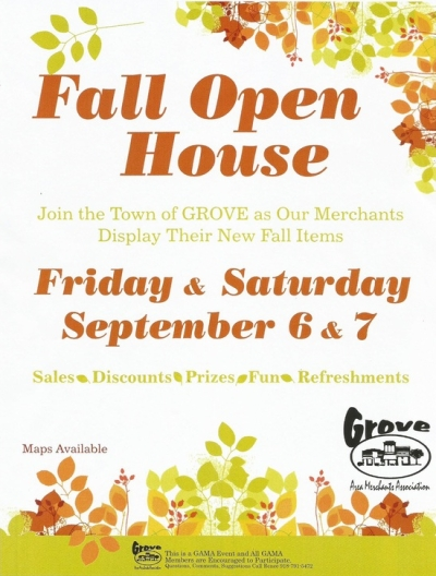 Grove Fall Open House 2013
