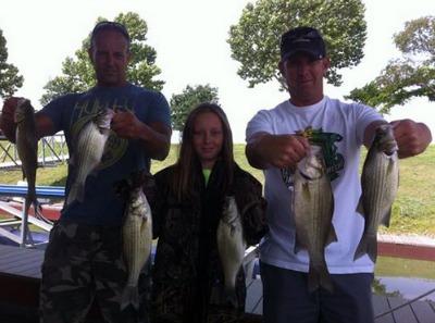 Grand Lake Ok White Bass