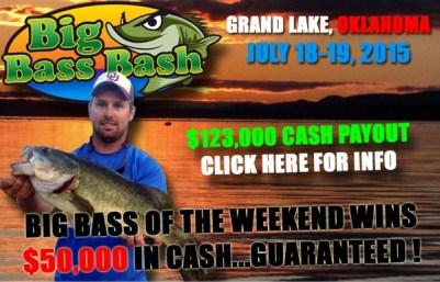 2015 Big Bass Bash at Grand Lake Oklahoma