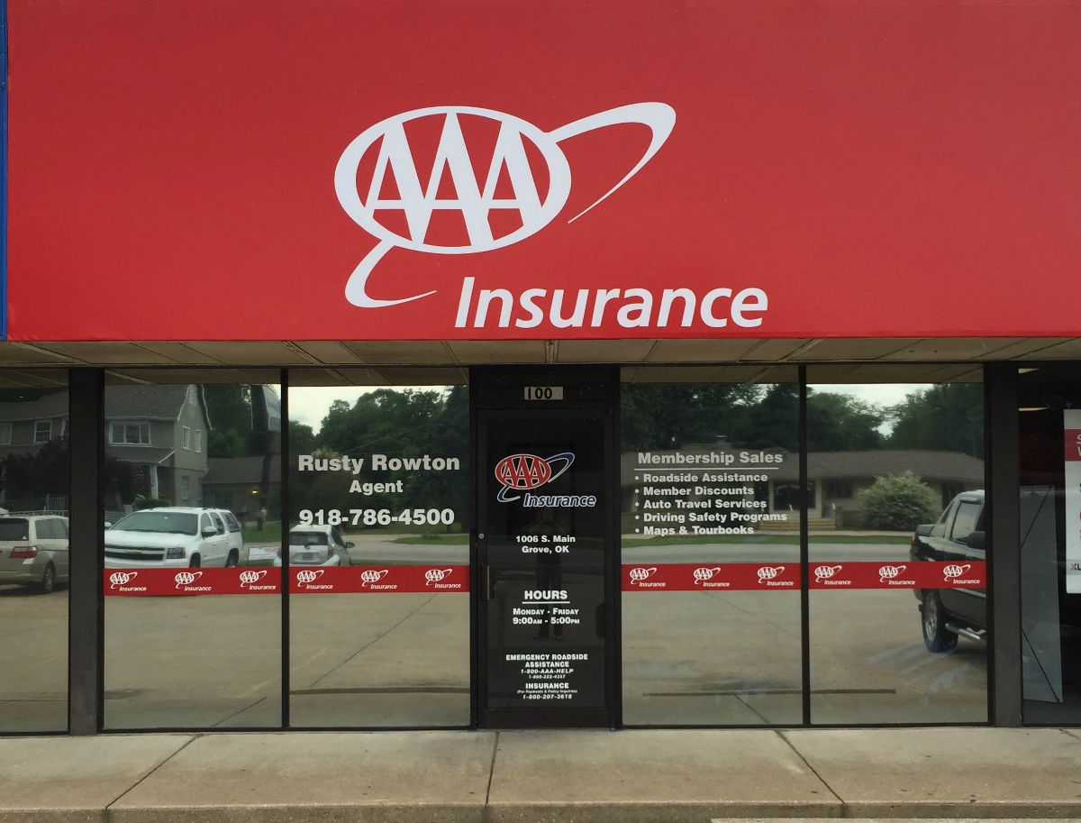 AAA Insurance Rusty Rowton Is Back Home In Grove | Grand