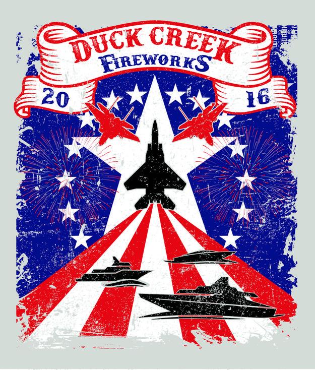 2016 Duck Creek Fireworks
