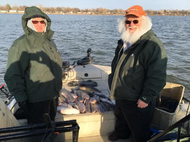 Blue Catfish at Grand Lake OK