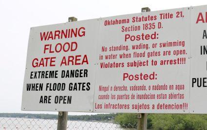 GRDA Flood Gate Areas