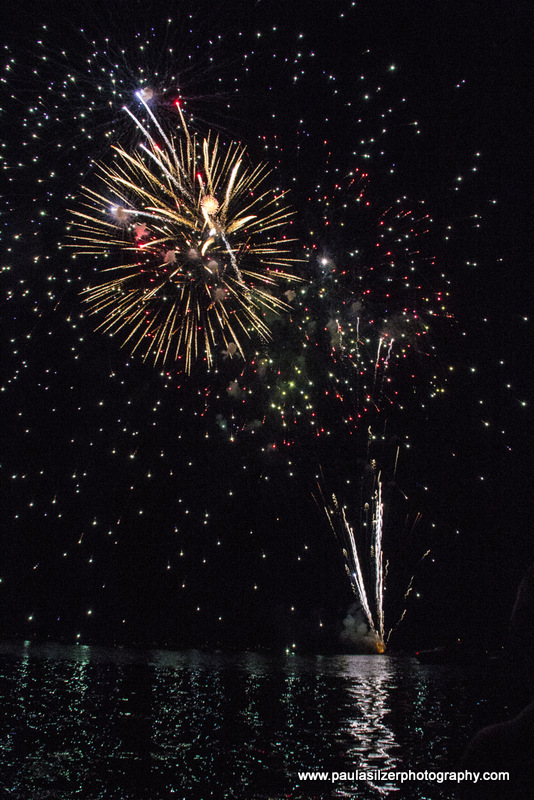 Grand Lake Fireworks 2012