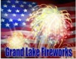 Grand Lake Fireworks 2013 in Disney on Friday, July 5th
