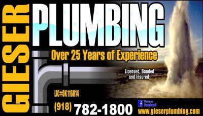 Gieser Plumbing Langley Oklahoma