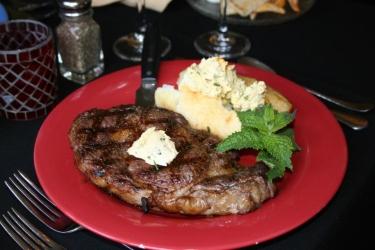 Steak Dinner at Artichoke