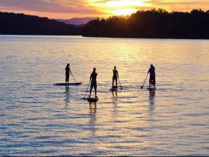 Grand Lake Paddleboarding