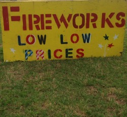 Fireworks is BIG Business at Grand Lake