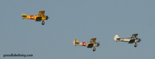 Warbirds at Grand Lake