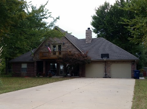 lake view home Langley OK FSBO