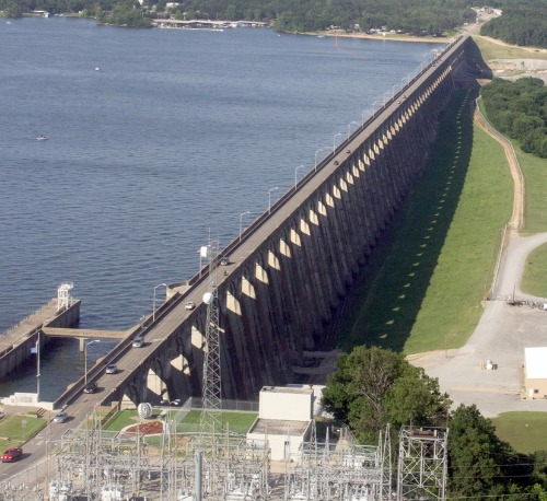 Pensacola Dam Grand Lake Watershed