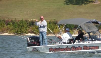 Rusty Pritchard doing his thing at Grand Lake!