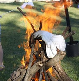 Burning of the socks Grand Lake OK