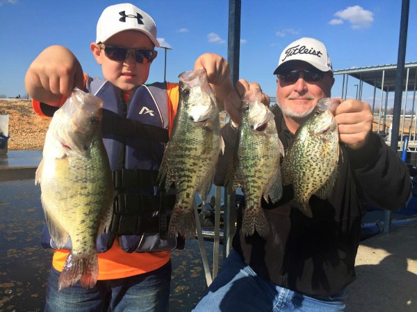 Grand Lake OK Crappie Spring 2015