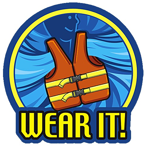 Wear Your Life Jacket at Grand Lake OK