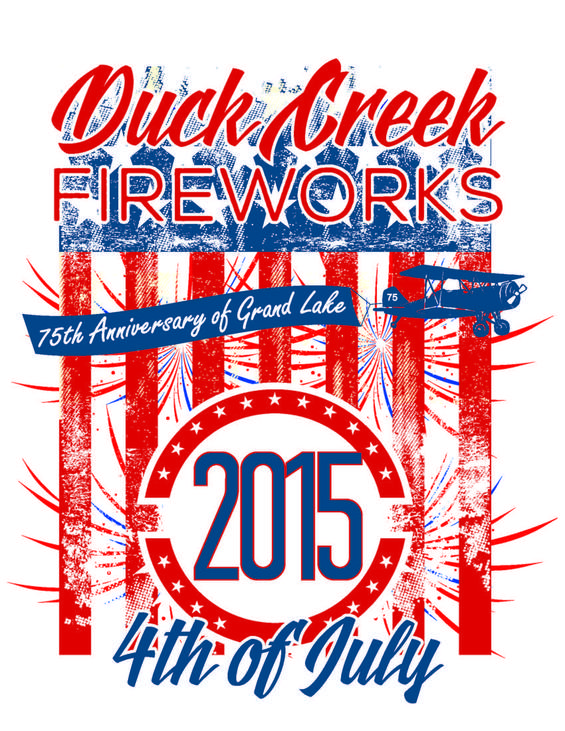 Duck Creek Fireworks 2015