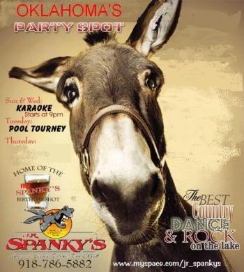 JR Spanky's Grove Oklahoma