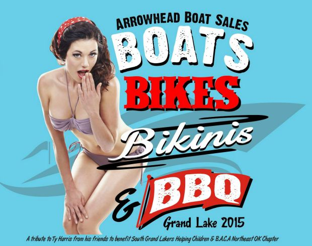 Boats, Bikes, Bikinis and BBQ at Grand Lake OK