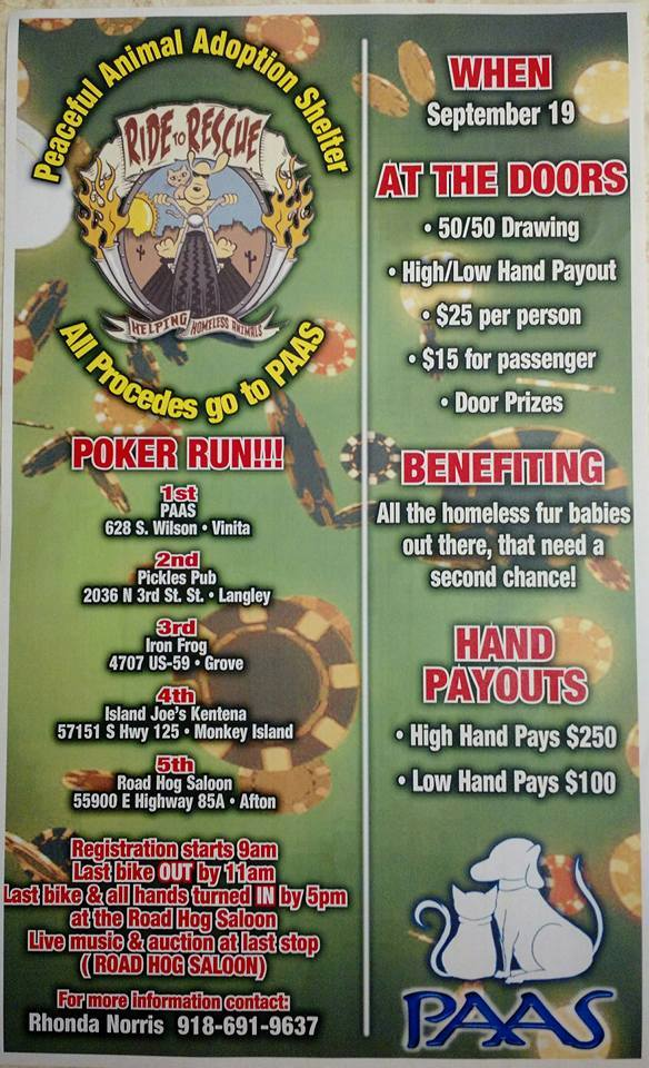 PAAS Poker Run 2015
