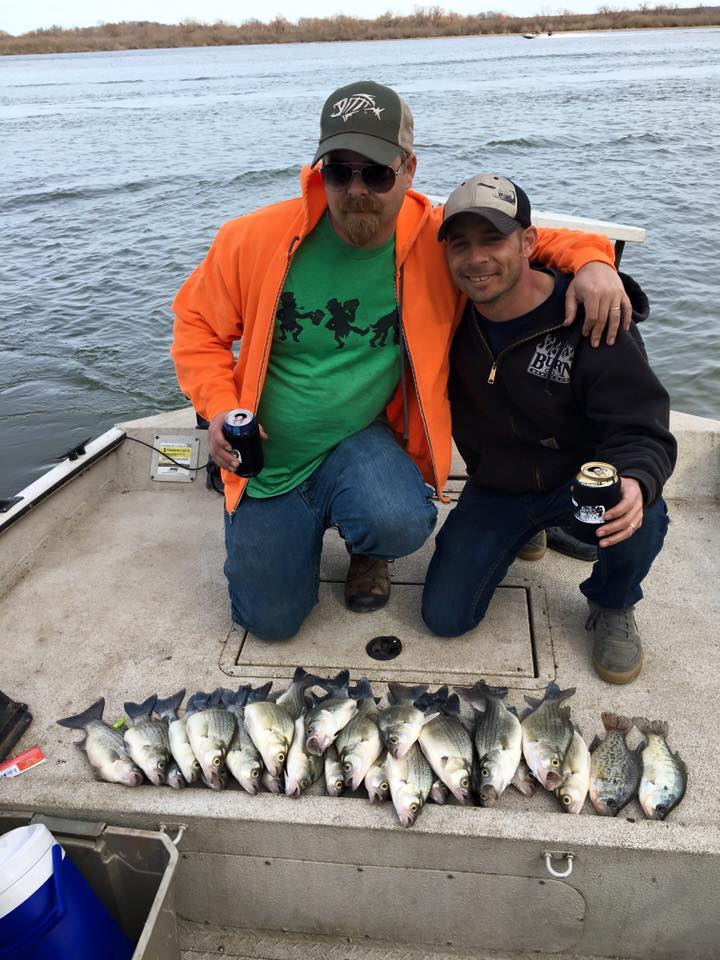 Chasing white bass on the spring river grand lake living for Grand lake ok fishing report