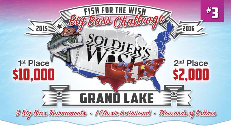 Soldiers Wish Fishing Challenge Grand Lake OK