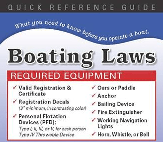 Grand Lake Boating Safety Reference