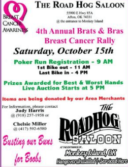 Brats and Bras Breast Cancer Rally