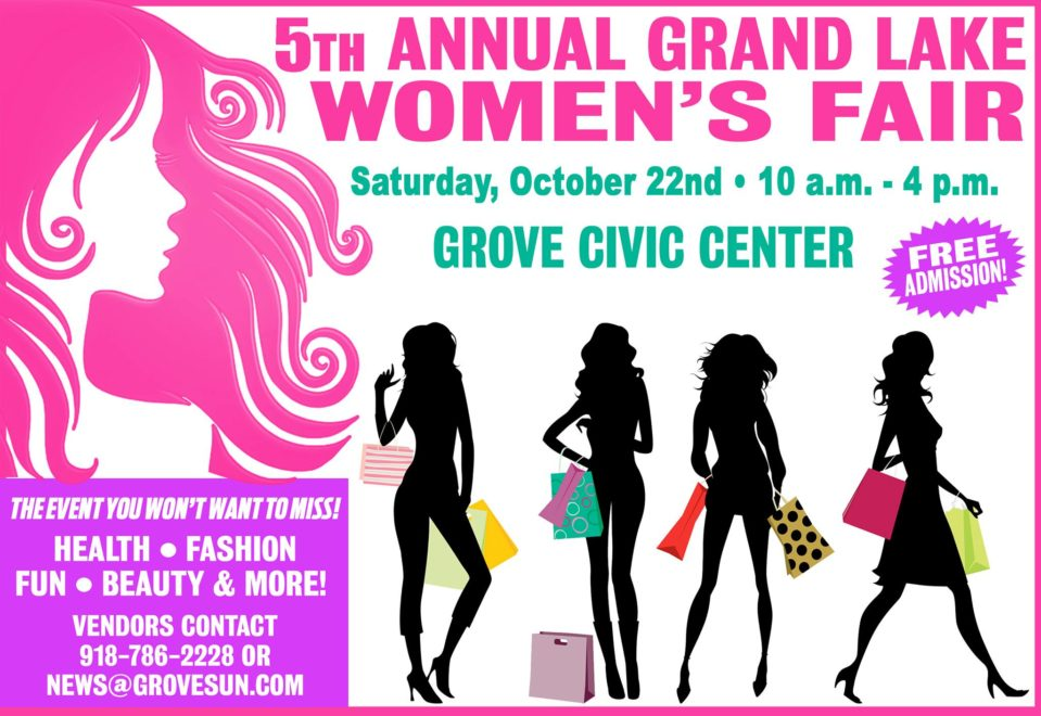 2016 Grand Lake Womens Fair Grove OK