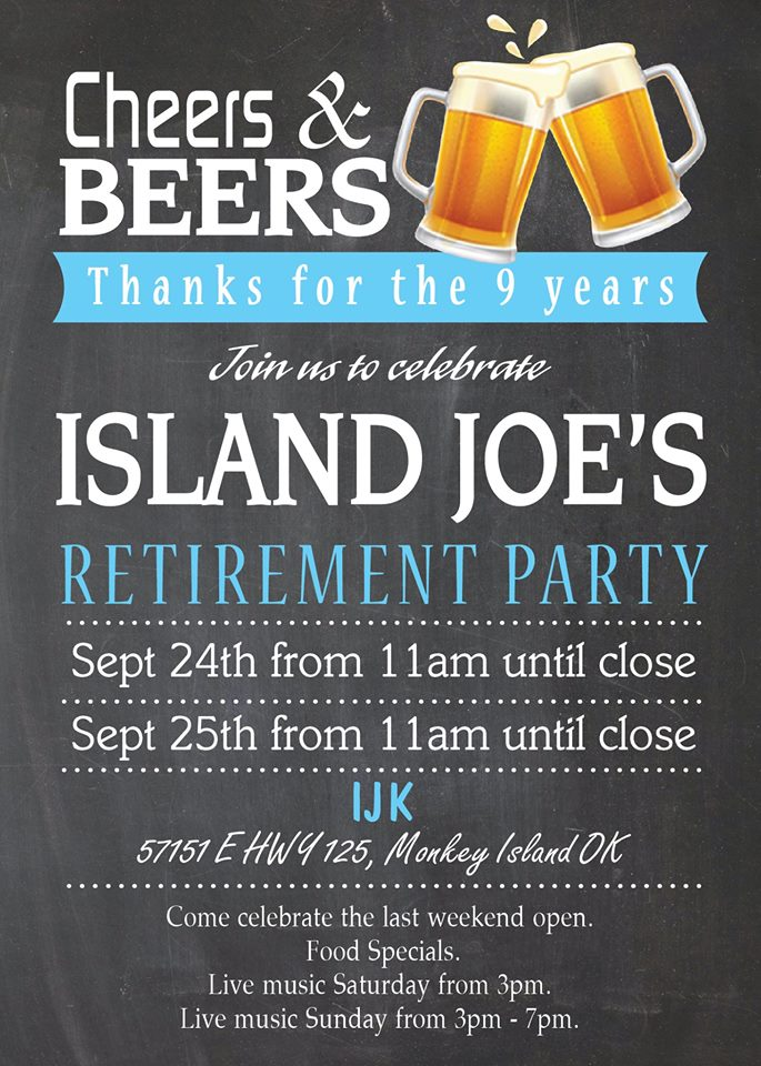 Island Joe's Closing Party