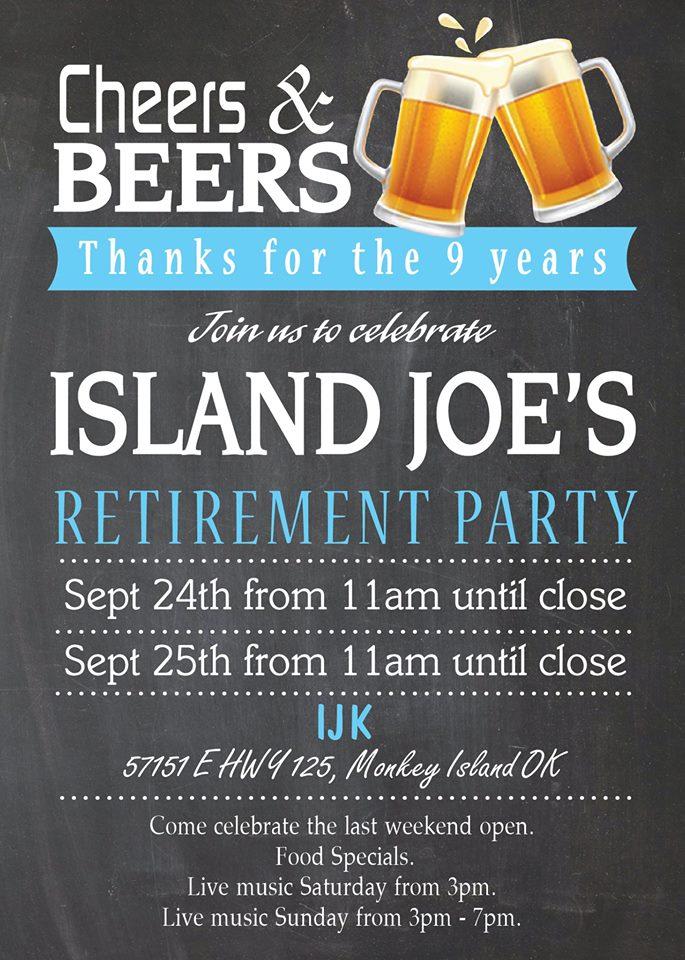 Island Joe's Closing Party