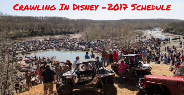 2017 Disney OK Rock Crawling Events