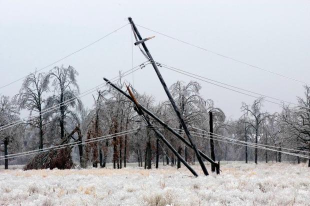 Oklahoma Ice Storms