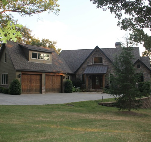 Check Out This Lakefront Executive Retreat Located at 56294 E 302 Road on Monkey Island
