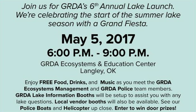 2017 GRDA Lake Launch