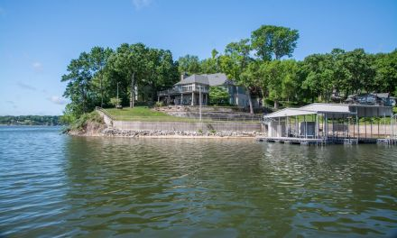 Elegant Lakefront Home For Sale at 1439 Melody Lane in Grove OK