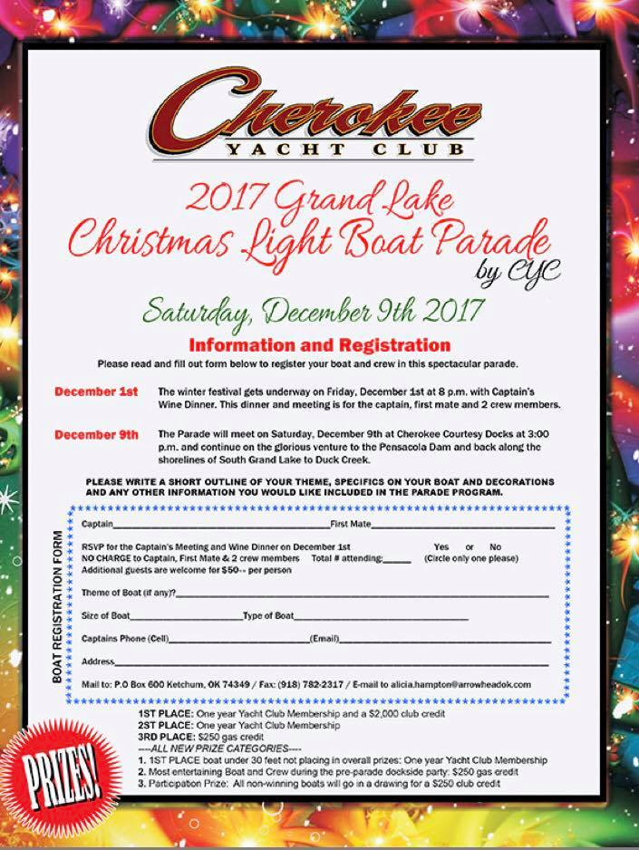 2017 Grand Lake Boat Parade