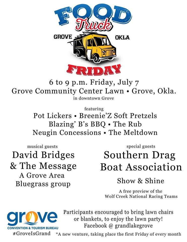 Food Truck Friday Grove OK