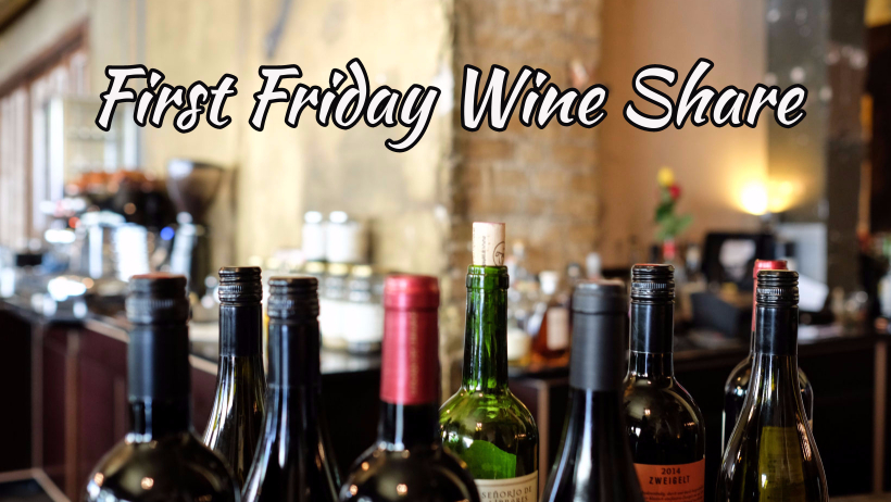 First Friday Wine Share Grove Oklahoma