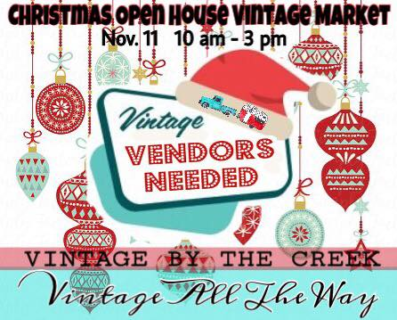 Christmas Open House Vintage Market