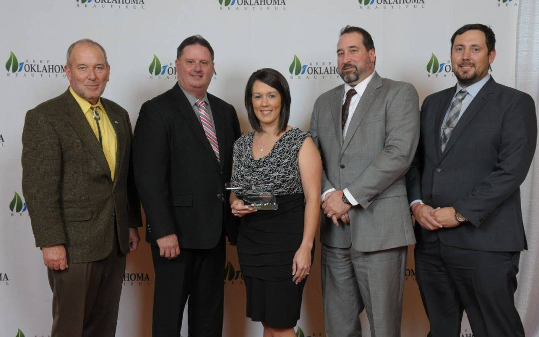 "GRDA ""Rush For Brush"" Program Receives Keep Oklahoma Beautiful Award"