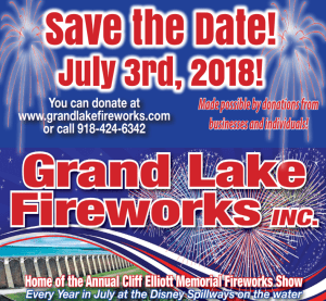 2018 Grand Lake Fireworks