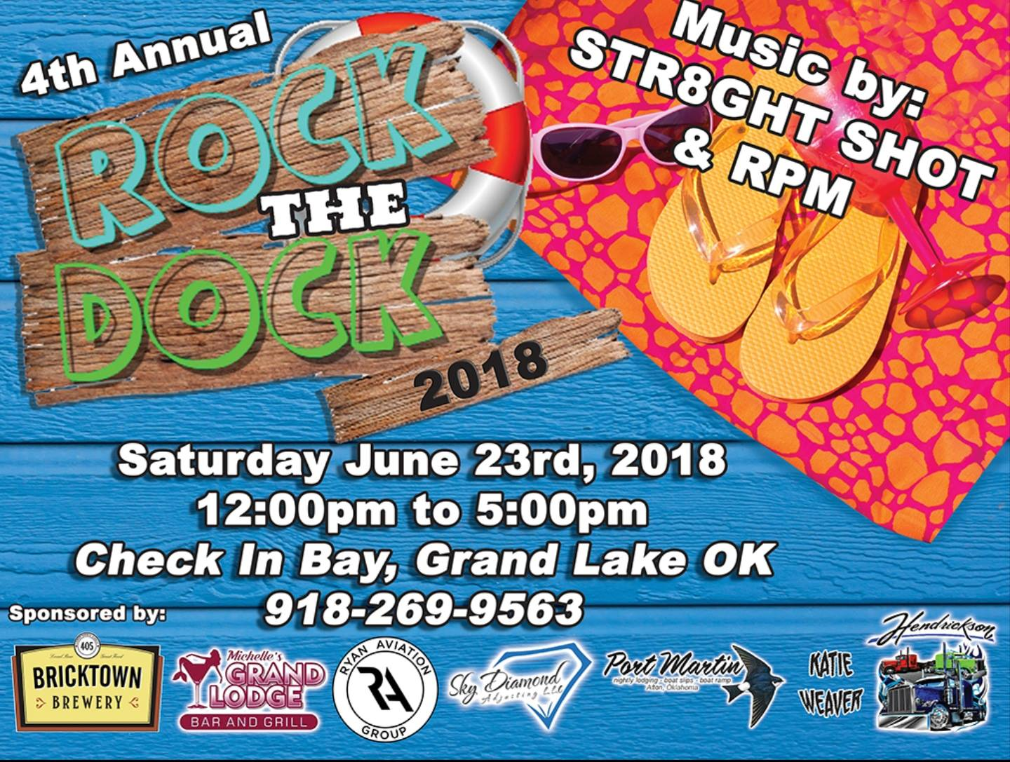 Rock the Dock Grand Lake 2018
