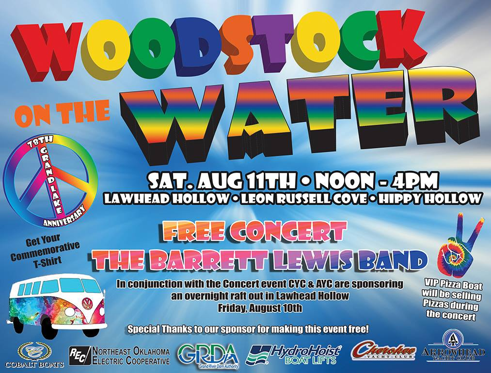 2018 Woodstock on the Water at Grand Lake